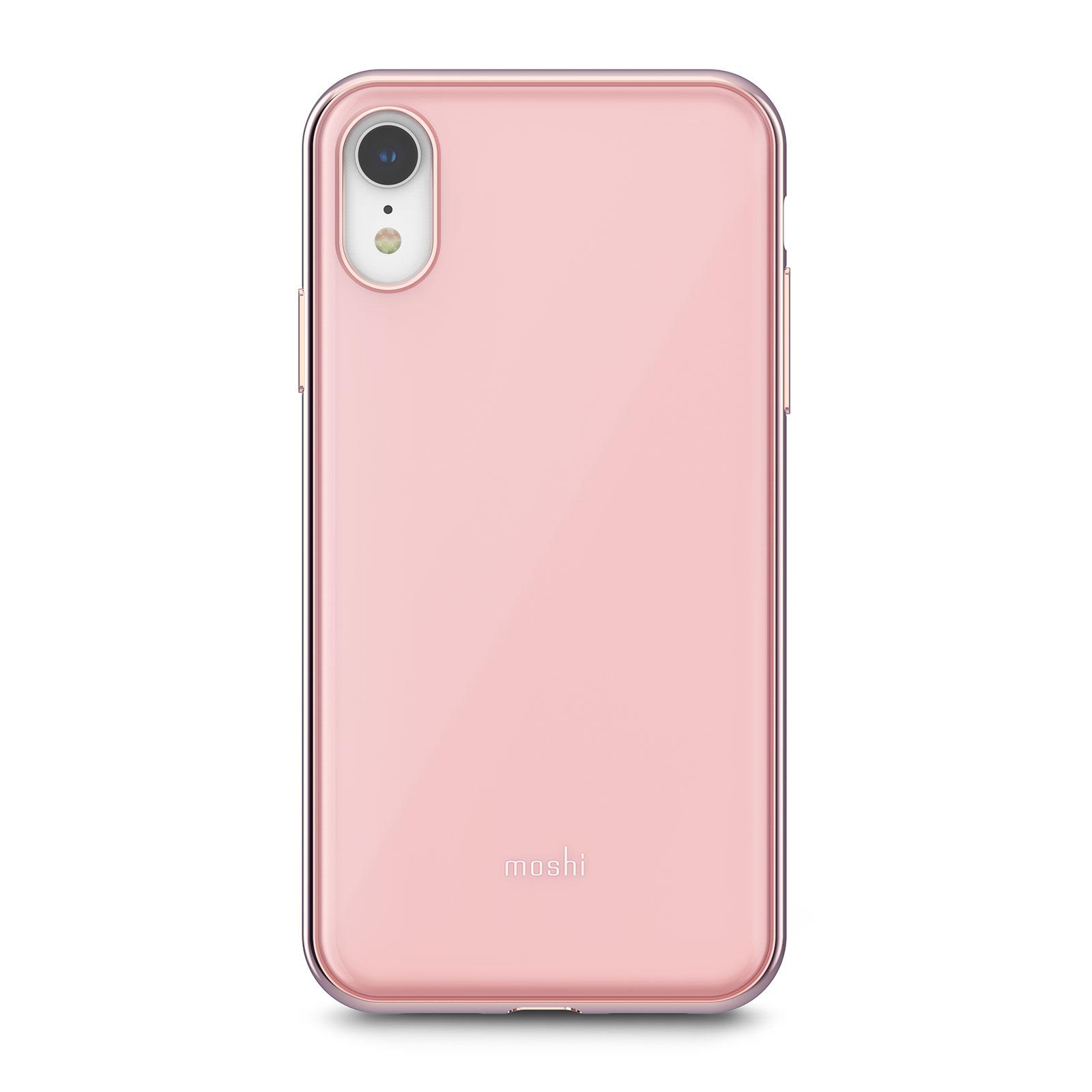 Клип-кейс Moshi iGlaze 99MO113301 для iPhone XR Taupe Pink клип кейс moshi iglaze для apple iphone xr красный
