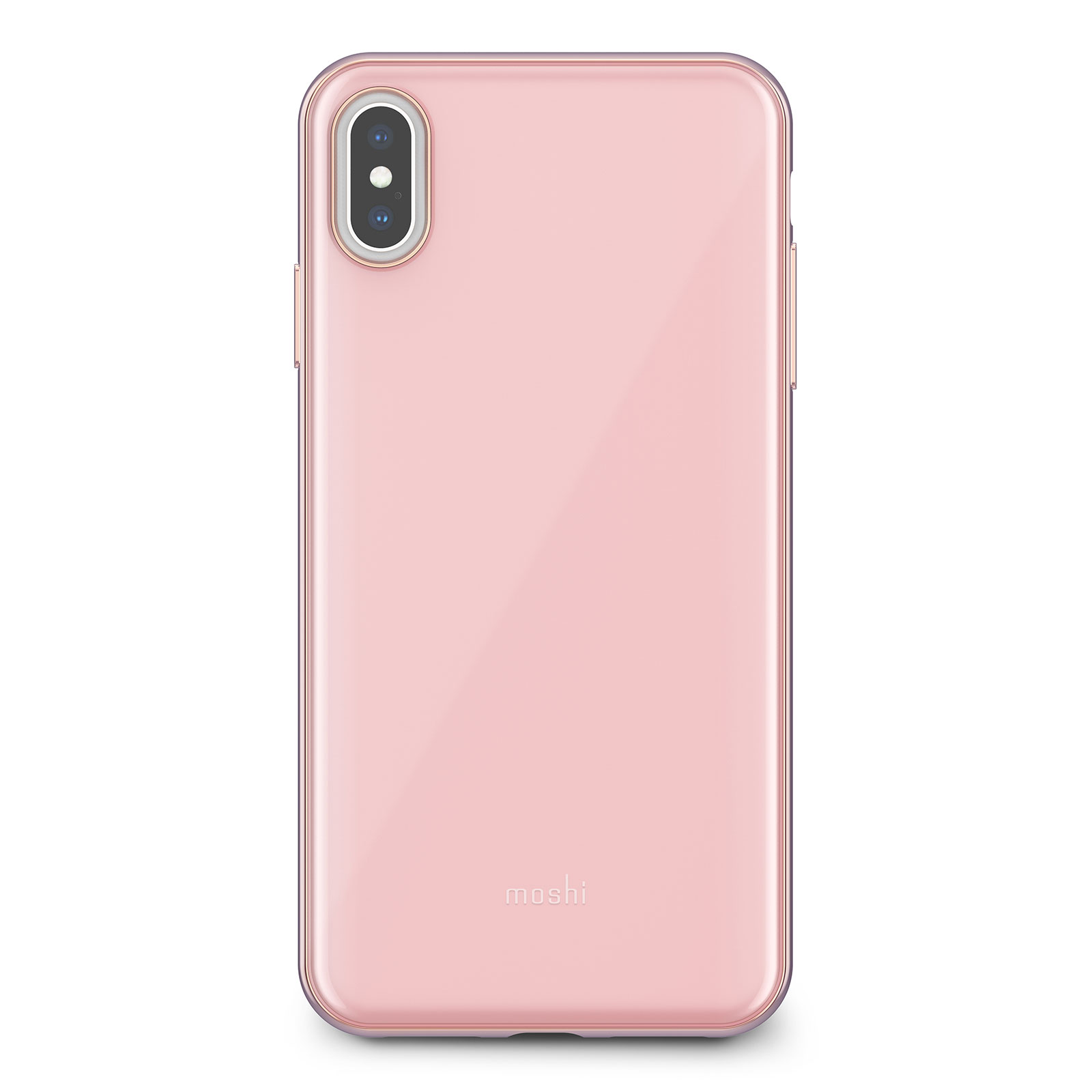 Клип-кейс Moshi iGlaze для iPhone XS Max Taupe Pink накладка moshi iglaze для iphone xs max чёрный 99mo113002