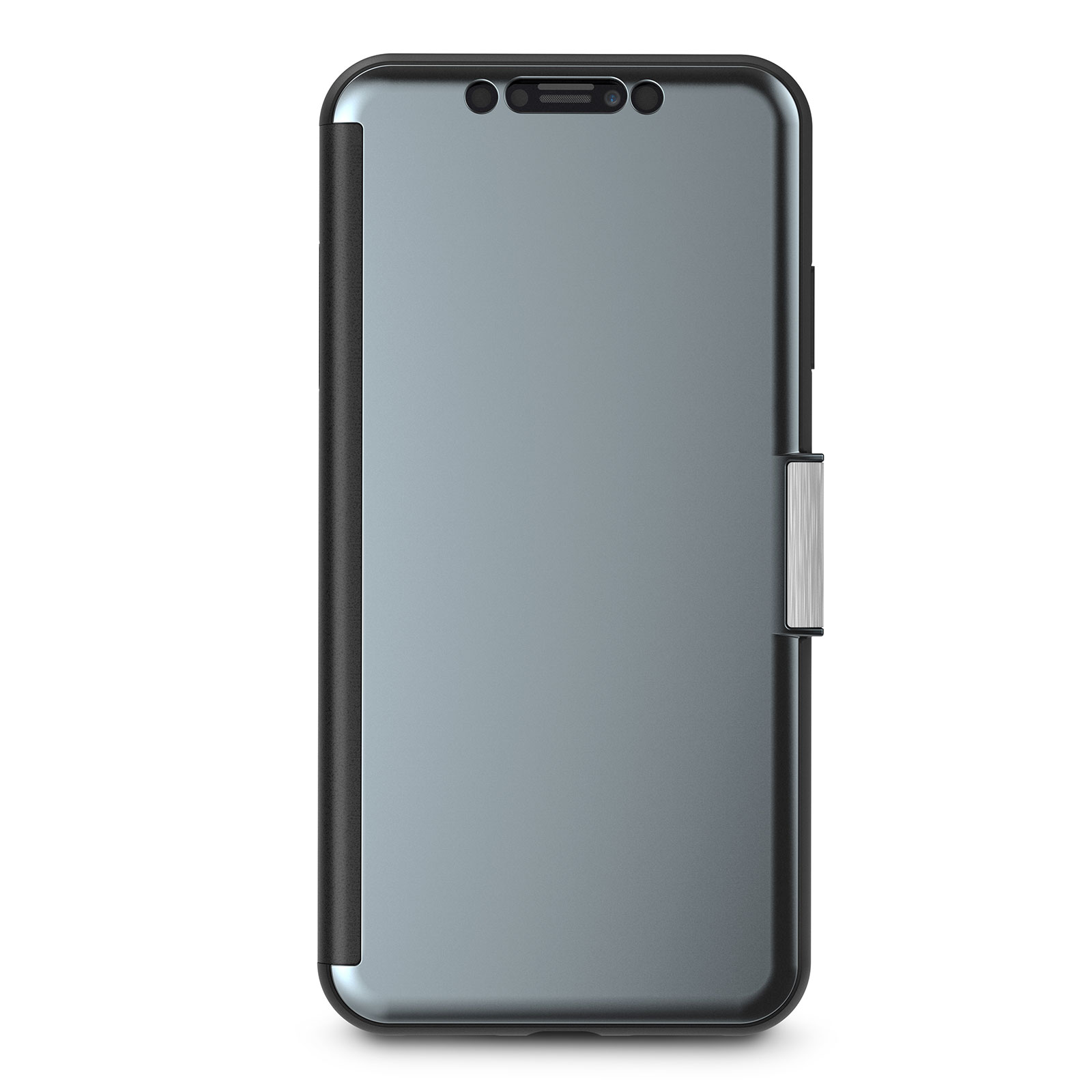 Кейс-книжка Moshi StealthCover для iPhone XS Max Gunmetal Gray цена и фото