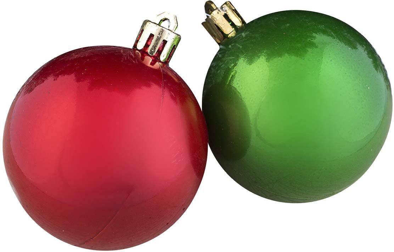 """Набор елочных шаров """"Цветной глянец"""", цвет: разноцветный, диаметр 5,5 см, 20 шт"""