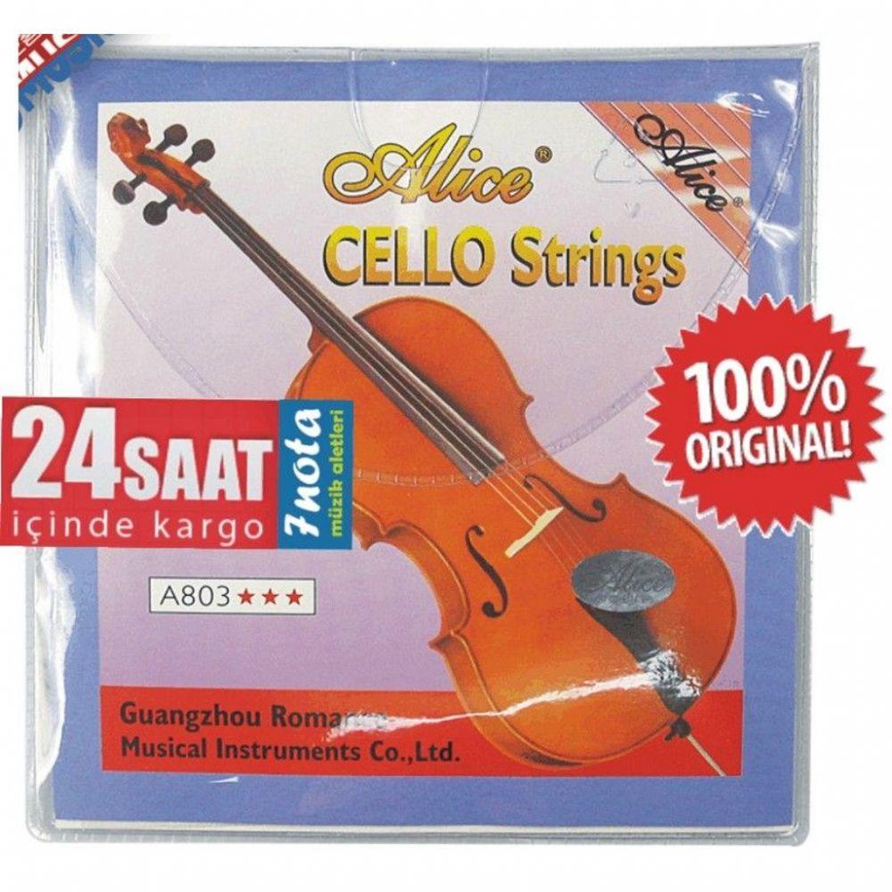 Струны для виолончели Alice A803, MF00127 цена