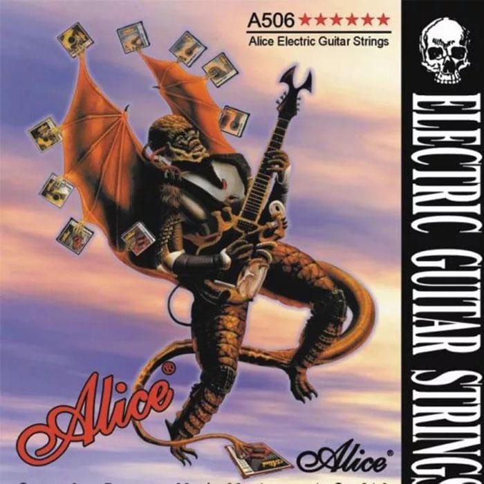 ALICE A506SL - Комплект струн для электрогитары. Сталь / сплав никеля