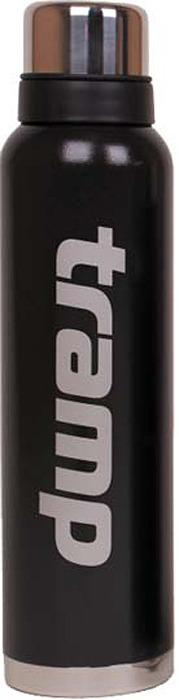 Термос Tramp, цвет: черный, 1,6 л. TRC-029 термос tramp greenline цвет зеленый 2 2 л trc 097
