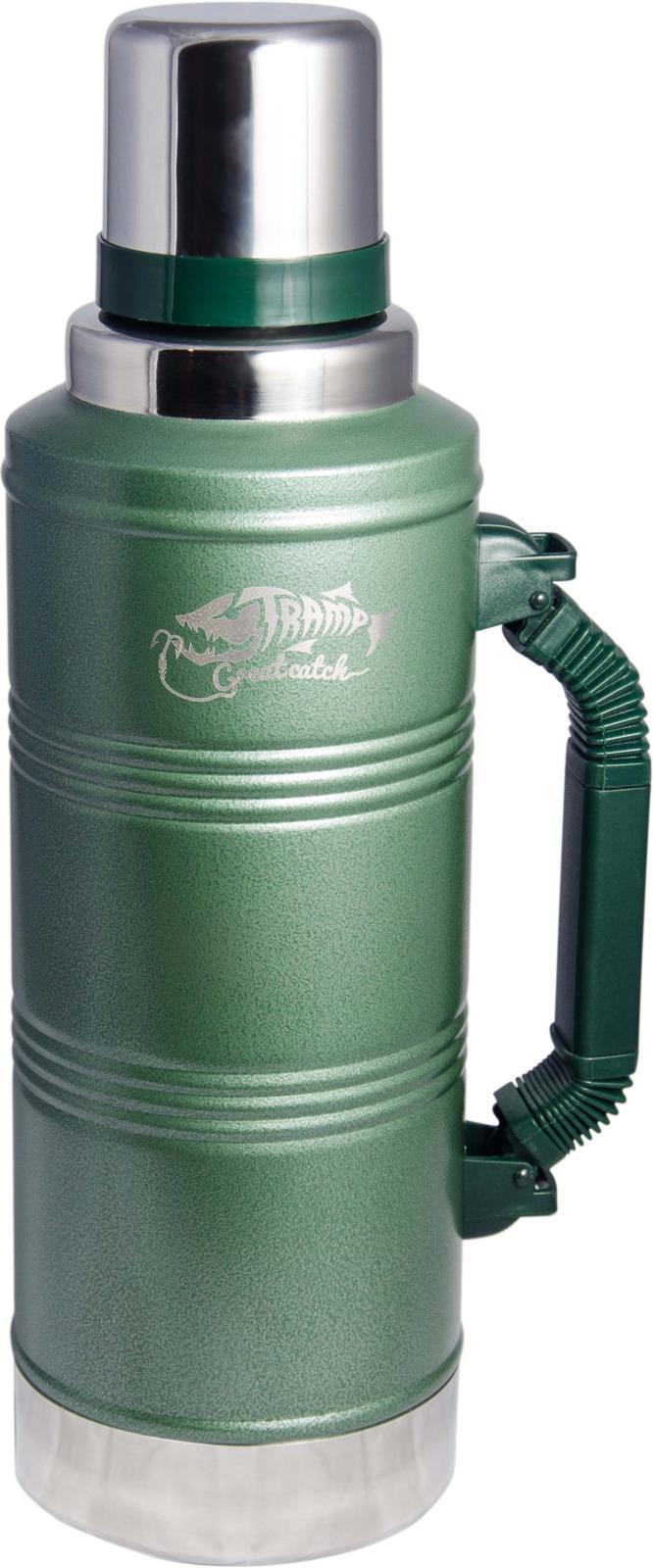 Термос Tramp GreenLine, цвет: зеленый, 2,2 л. TRC-097 термос tramp greenline цвет зеленый 2 2 л trc 097