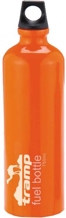 Бутылка под жидкое топливо Tramp, цвет: оранжевый, 750 мл. TRG-025 фляга сплав hr c 750 мл
