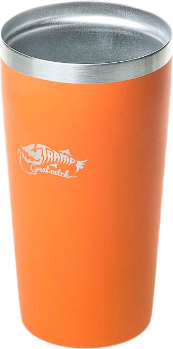 Термостакан Tramp, цвет: оранжевый, 450 мл. TRC-102 tramp trc 031