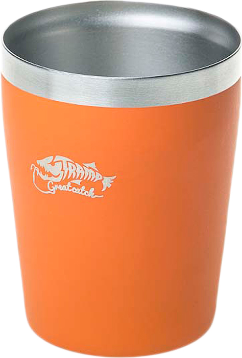 Термостакан Tramp, цвет: оранжевый, 250 мл. TRC-101 tramp trc 031