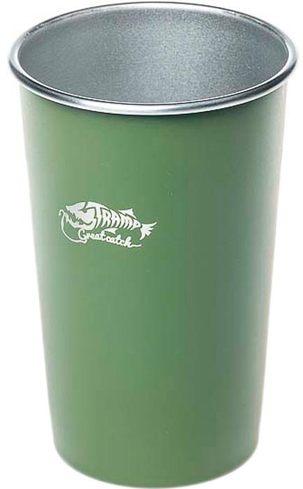 Стакан Tramp, цвет: оливковый, 450 мл. TRC-099 термокружка tramp цвет серый металлик 225 мл trc 008