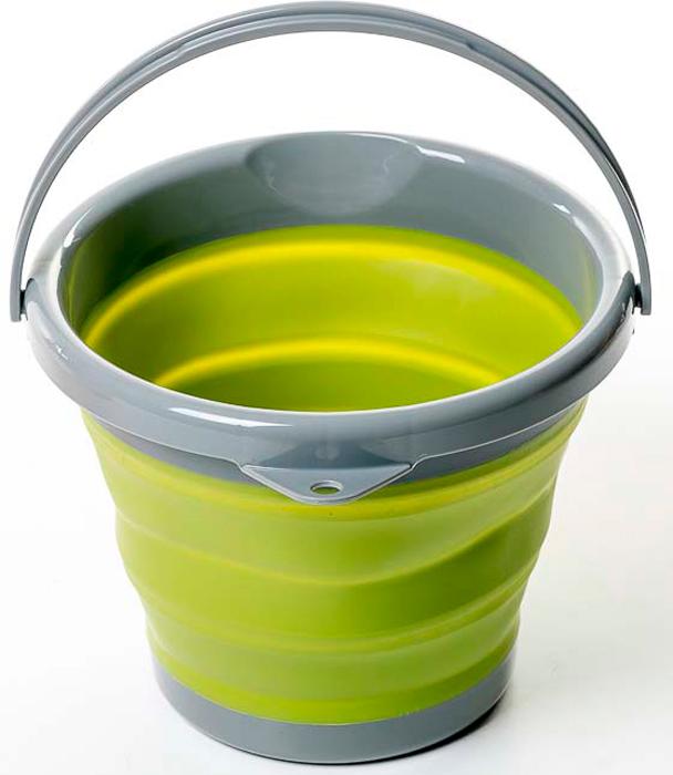 Ведро Tramp Силиконовая посуда, складное, цвет: оливковый, 5 л. TRC-092 tramp trc 029