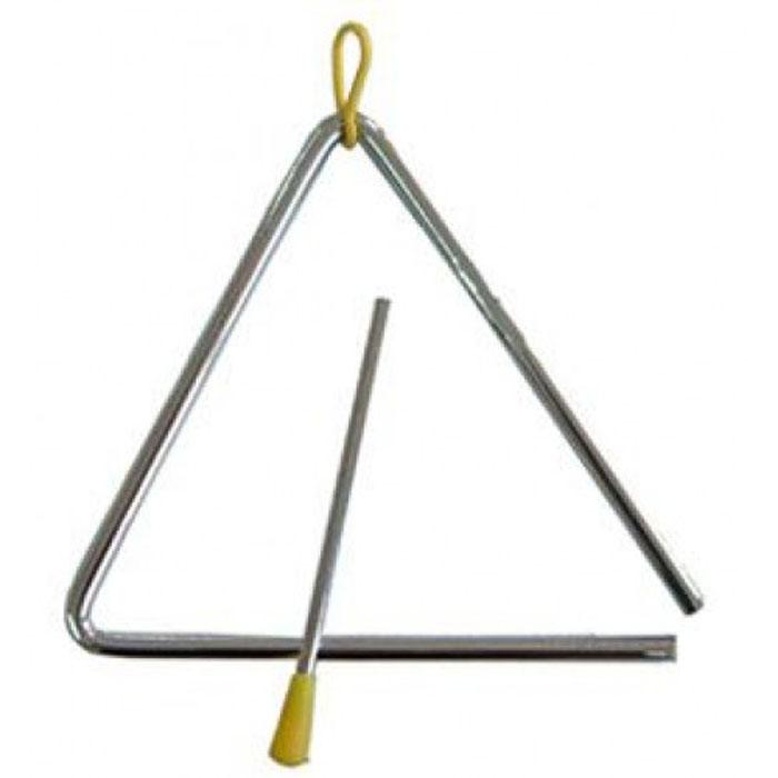 DEKKO T-6  -Треугольник хромированный  15 cм Dekko