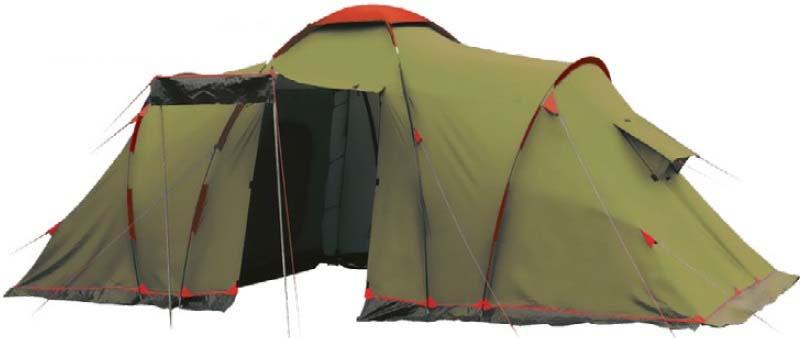 Палатка Tramp Lite Castle 6, цвет: зеленый. TLT-028.06