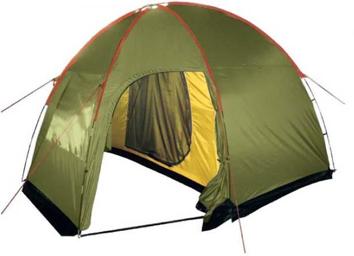 Палатка Tramp Lite Anchor 4, цвет: зеленый. TLT-032.06