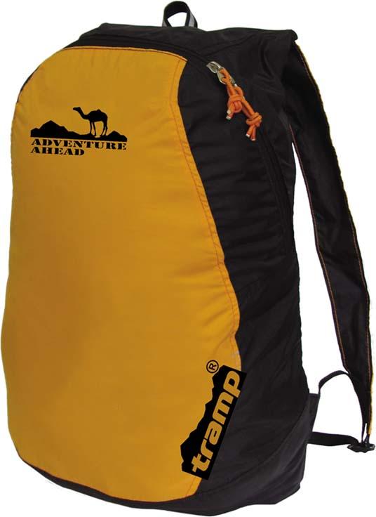 Рюкзак Tramp Ultra 15, цвет: оранжевый, черный, 13 л. TRP-012.04 цена