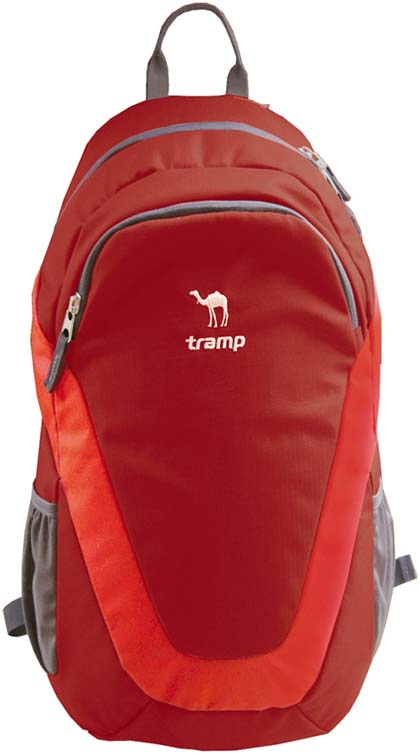 Рюкзак Tramp City, цвет: красный, 22 л. TRP-022 цена