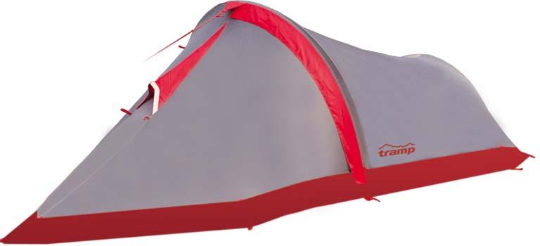 Палатка Tramp Bike 2 (V2), цвет: серый. TRT-20
