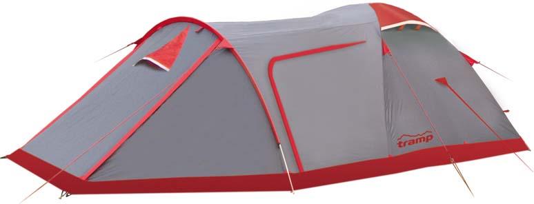 Палатка Tramp Cave (V2), цвет: серый. TRT-21