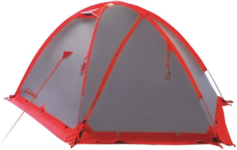 Палатка Tramp Rock 3 (V2), цвет: серый. TRT-28