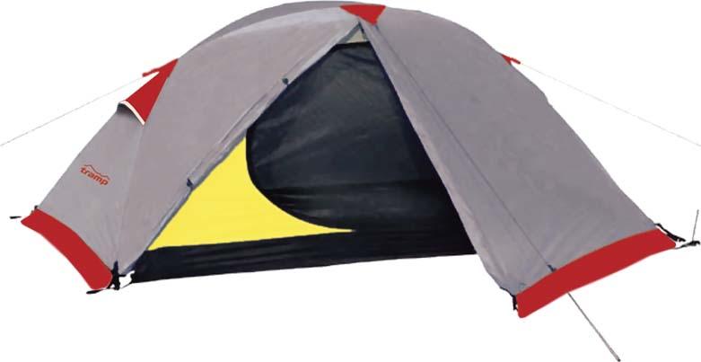 Палатка Tramp Sarma 2 (V2), цвет: серый. TRT-30