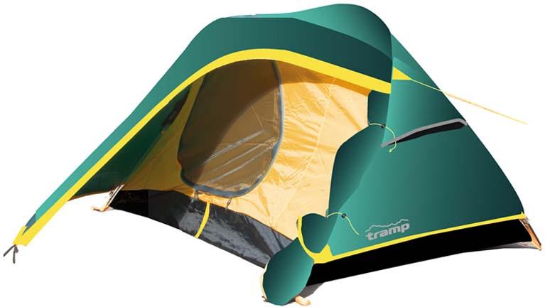 Палатка Tramp Colibri (V2), цвет: зеленый. TRT-34