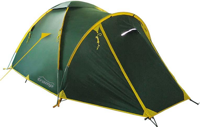 Палатка Tramp Space 3 (V2), цвет: зеленый. TRT-59