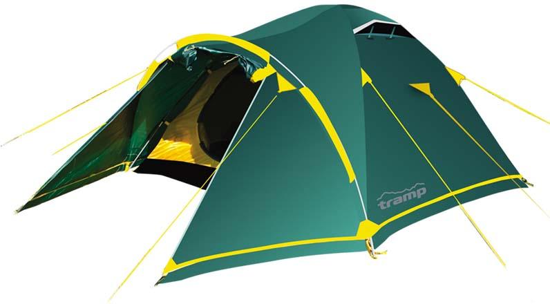 Палатка Tramp Stalker 3 (V2), цвет: зеленый. TRT-76 цена