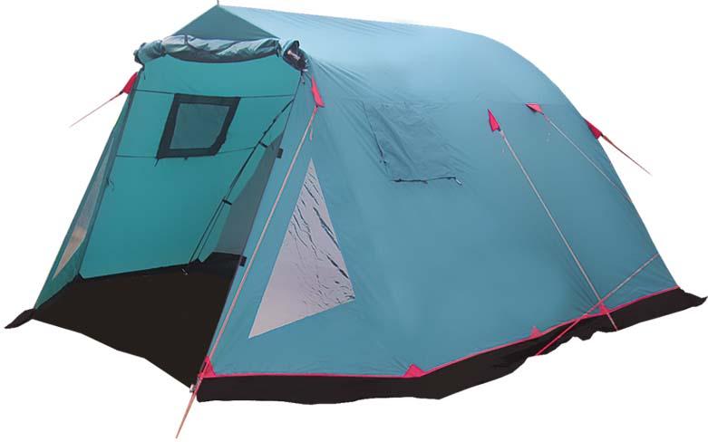 Палатка Tramp Baltic Wave (V2), цвет: зеленый. TRT-79