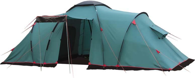 Палатка Tramp Brest 6 (V2), цвет: зеленый. TRT-83 jingdong супермаркет] [нв с несколькими отделениями диффундируют лечение большой кистью черные овалы