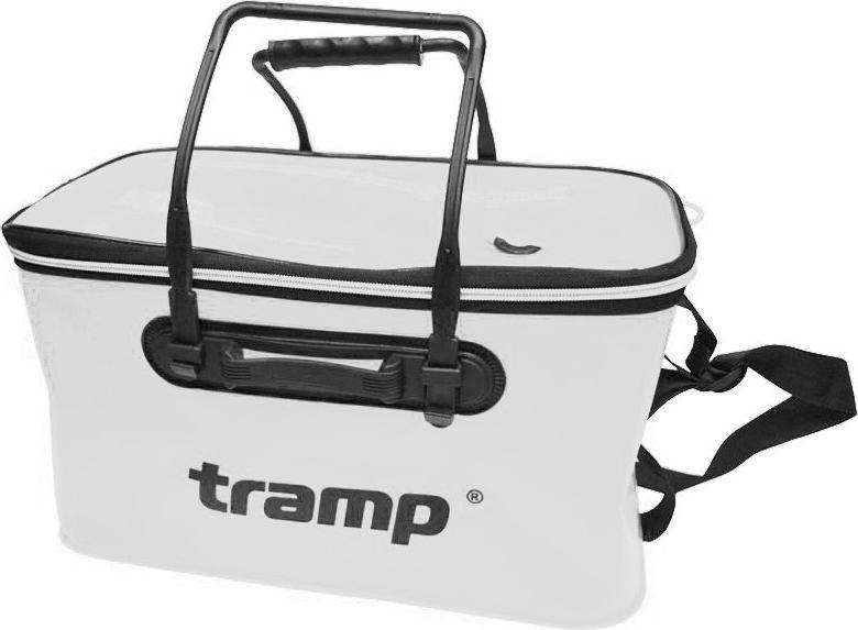 Сумка рыболовная Tramp, цвет: белый, 35 х 20 х 20. TRP-030