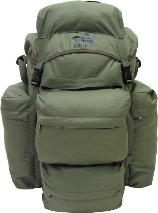 Рюкзак Tramp Setter 60, цвет: оливковый, 60 л. TRP-025 цена