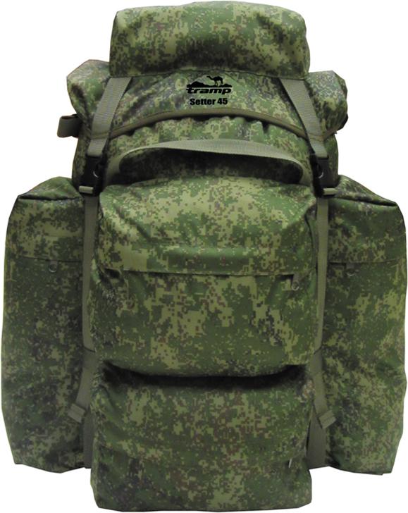 Рюкзак Tramp Setter 45, цвет: зеленый, 45 л. TRP-024 цена