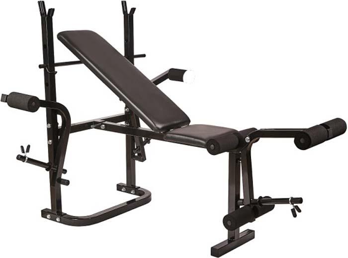 Силовая скамья Royal Fitness Fitness, со стойками. BENCH-1520