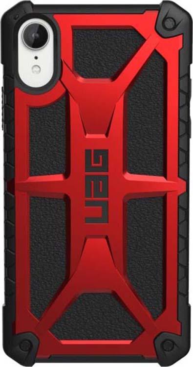 Защитный чехол UAG Monarch для Apple iPhone XR, цвет: красный защитный чехол uag monarch для iphone xs max цвет красный