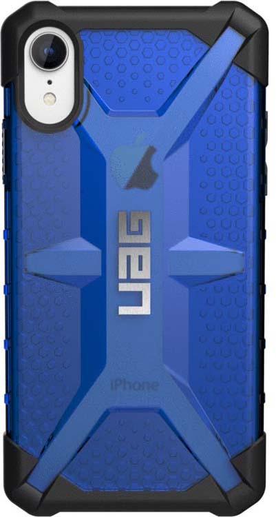 Защитный чехол UAG Plasma для Apple iPhone XR, цвет: синий