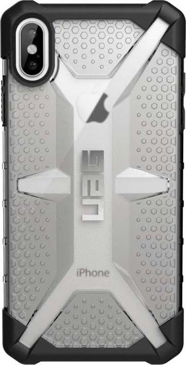 Защитный чехол UAG Plasma для Apple iPhone XS Max, цвет: серый