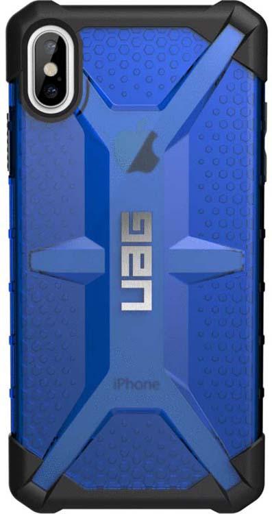 Защитный чехол UAG Plasma для Apple iPhone XS Max, цвет: синий