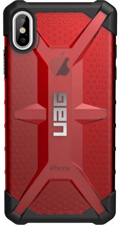 Защитный чехол UAG Plasma для Apple iPhone XS Max, цвет: красный