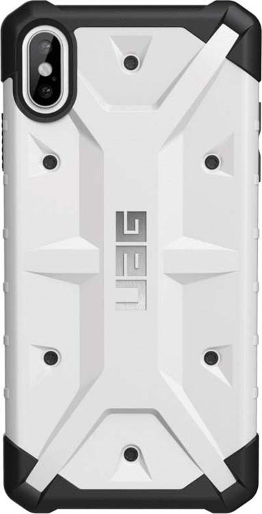 Защитный чехол UAG Pathfinder для Apple iPhone XS Max, цвет: белый