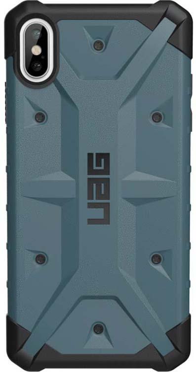 Защитный чехол UAG Pathfinder для Apple iPhone XS Max, цвет: темно-серый