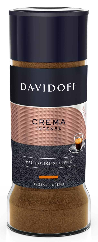 Кофе расторимый Davidoff Crema Intense, 90 г кофе tchibo кофе в зернах davidoff cafe crema 500 g