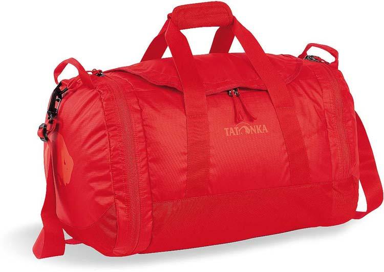 Сумка дорожная Tatonka Travel Duffle S, цвет: красный, 35 л сумка дорожная tatonka squeezy duffle