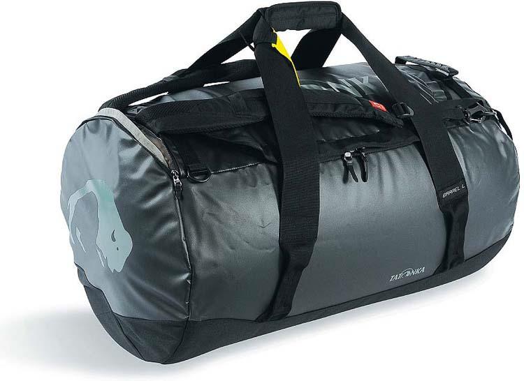 Сумка дорожная Tatonka Barrel L, цвет: черный, 85 л сумка для фотокамеры tatonka protection pouch l