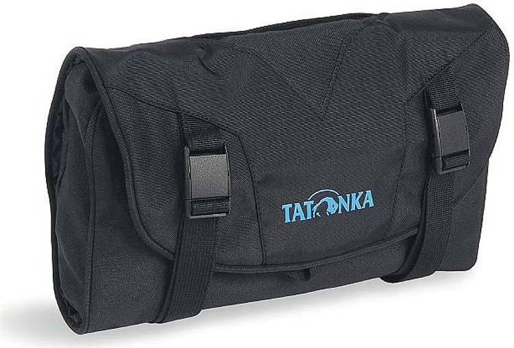Дорожная косметичка Tatonka Small Travelcare, цвет: черный, 17 х 25 х 4 см mac small rectangle косметичка small rectangle косметичка