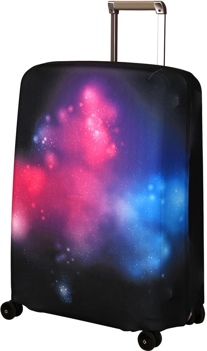 Чехол для чемодана Routemark Eternity, цвет: черный, размер M/L чехол для чемодана routemark ромбик в красном цвет красный