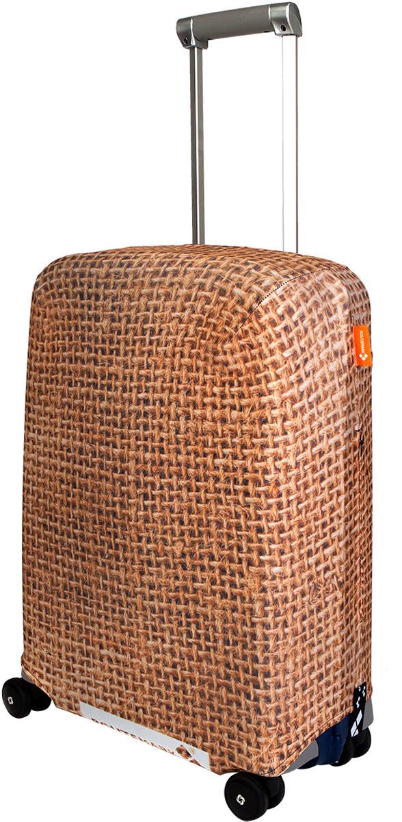 Фото - Чехол для чемодана Routemark Какой-то мешок на чемодане, цвет: светло-коричневый, размер S ремень женский fancy s bag цвет светло коричневый fb 1226 06 размер 105