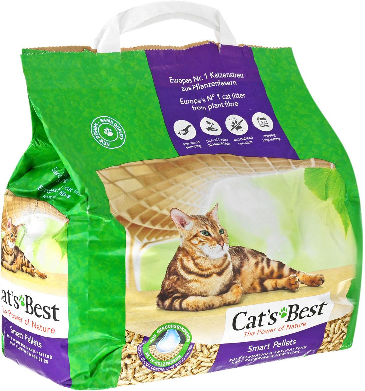 цена на Наполнитель для кошачьего туалета Cats Best Nature Gold, древесный, 5 л