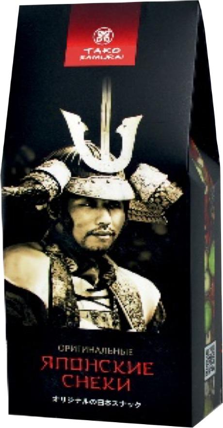 Снэки Тако Самурай Бобовый микс с восточными вкусами, 108 г снэки тако самурай дайдзу самурай японские снеки из бобовых 60 г