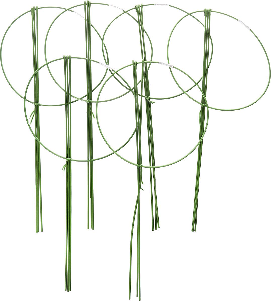 Опора для растений Palisad, диаметр 14 см, высота 30 см, 5 шт опора palisad 644215