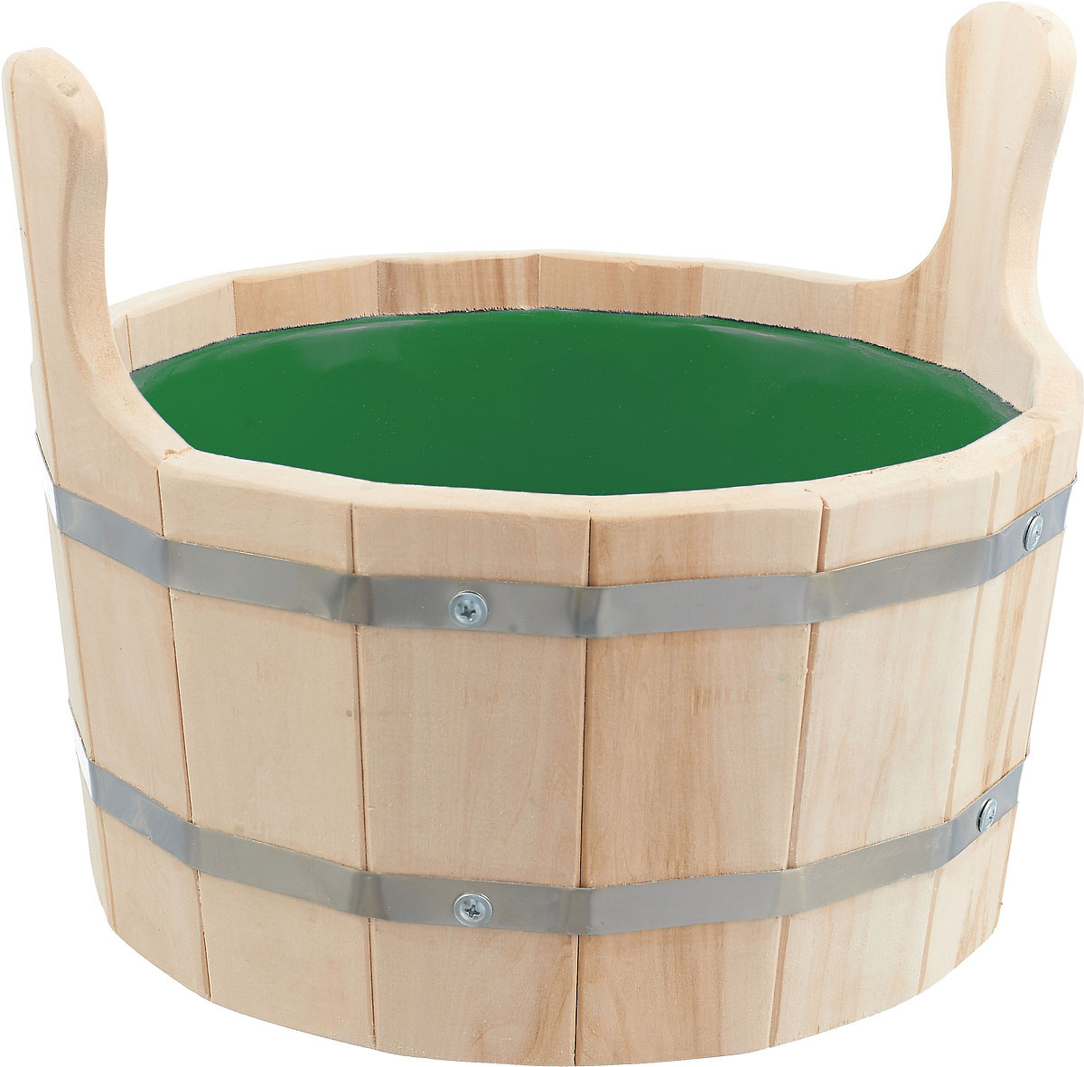 Шайка для бани Невский банщик, с пластиковым вкладышем, цвет: в ассортименте, 4,5 л аптечка полимербыт 6 5 л с вкладышем