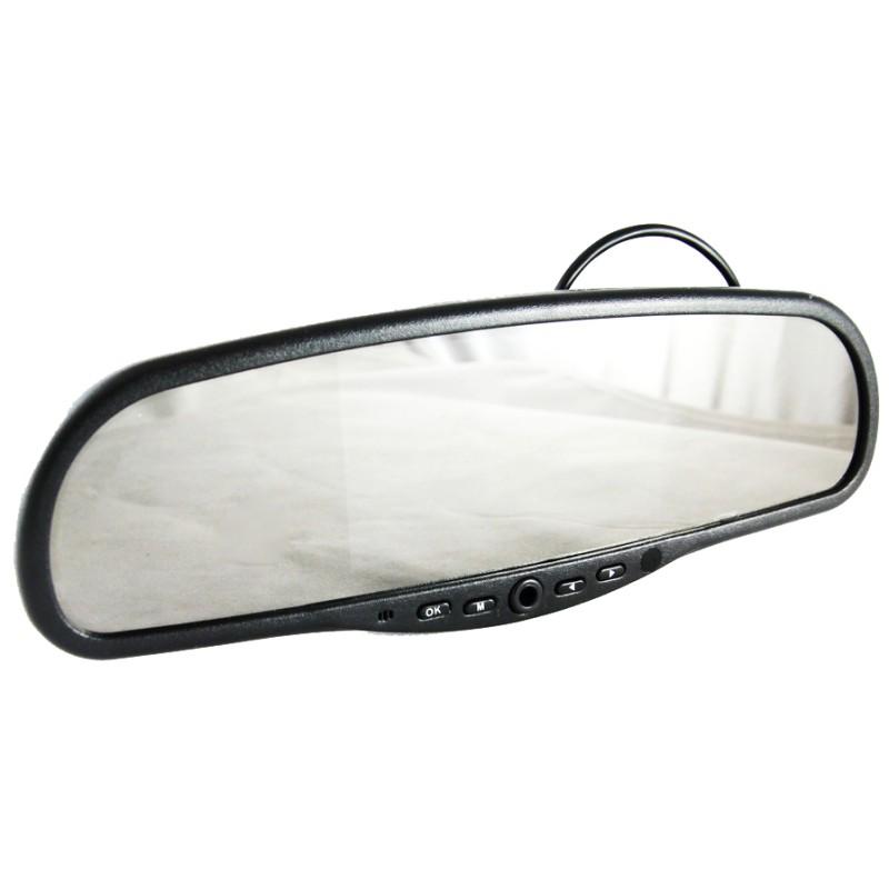 Видеорегистратор-зеркало AUTOLUXE Регистратор-зеркало HD-420B видеорегистратор зеркало autoluxe 2 камеры 720p hd 1280 720