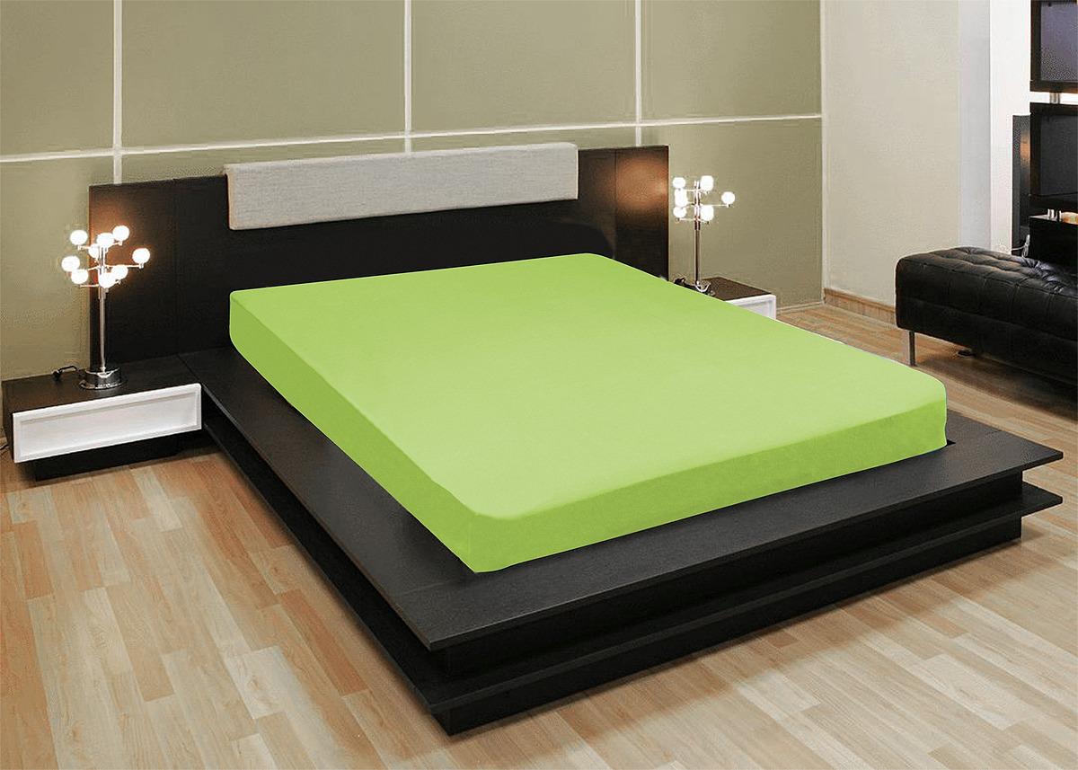 Простыня Amore Mio 140x220 зеленый